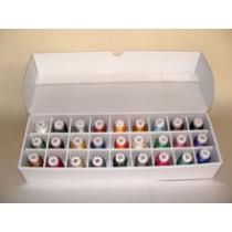 Sulky 40 Viscose sortimentlåda 27 färger